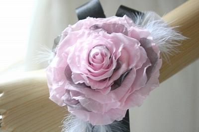 プリザーブドフラワー | 黒&ピンク のリストレット