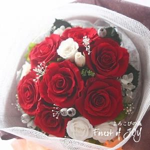 プリザーブドフラワー   プロポーズのお花
