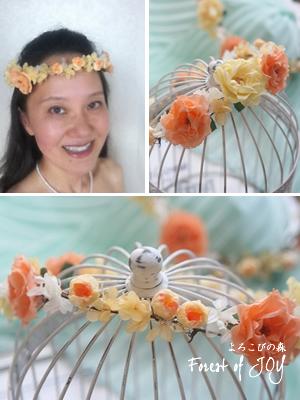 プリザーブドフラワー   花冠 * ブライズメイドたちへの贈り物 *